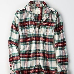 American Eagle Ahh-mazingly Soft Flannel Shirt